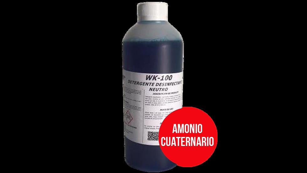 DETERGENTE DESINFECTANTE NEUTRO CON AROMA (Amonio Cuaternario)