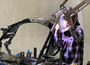 When you need quality fabrication work: BENZ and BIKES
