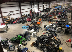 Largest motorcycle shop in South Texas