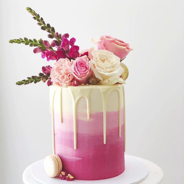 This colour palette! Some gorgeous cakes