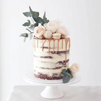 This sweet Red Velvet Wedding cake deliv