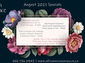 August 2021 Specials