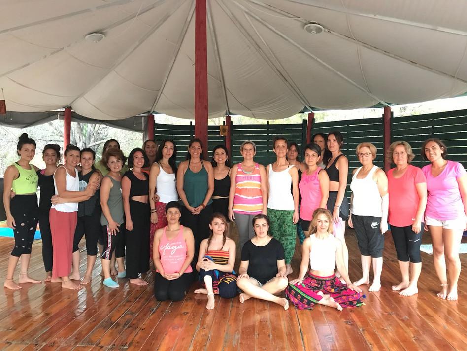 Mindfulness Meditation Worksop at Yoga Retreat, Turkey. 2019
