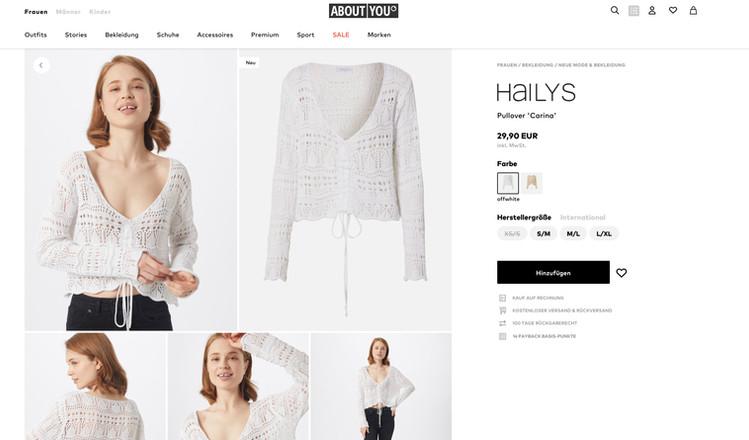 AboutYou, E-Commerce