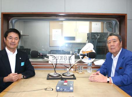 【ラジオ出演情報】ラジオ日本「こんにちは!鶴蒔靖夫です」に当社社長が出演