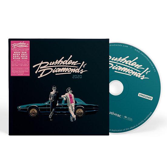 RUSHDEN & DIAMONDS - 2020 REDUX DELUXE CD (6 Panel Eco-Wallet + Extras)
