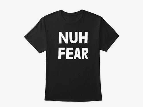 NUH FEAR - T-SHIRT (LOGO BLACK)