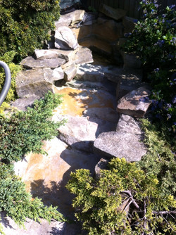 Waterfall repair