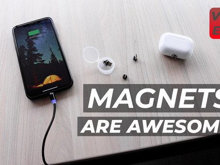 YouTube Weekly VLOG | EP18 | Magnetic Charge Cables are AWESOME!! And 2021 Goals Updates