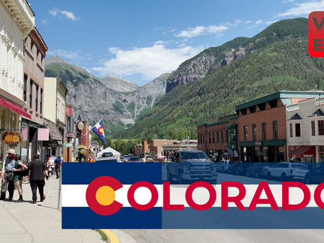 YouTube Weekly VLOG   EP30   Day Trip to Ouray and Telluride On the Million Dollar Highway