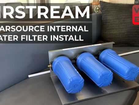 YouTube Weekly VLOG | EP22 | Airstream - Installing the Clearsource 3 Stage Internal Water Filter
