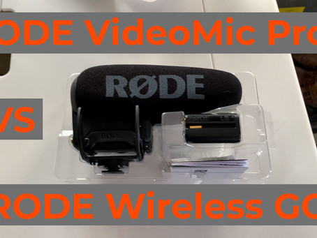 CT WEEK IN REVIEW | EP8 | RODE VideoMic Pro+ VS. RODE Wireless Go