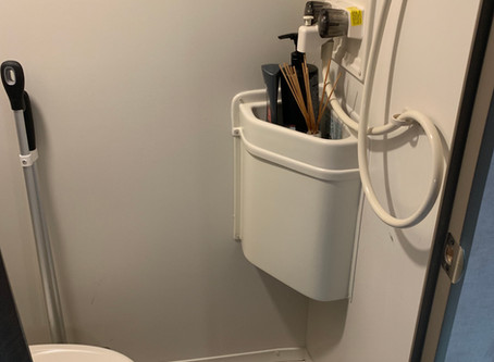 RPOD Camper Modifications   Bath Remodel