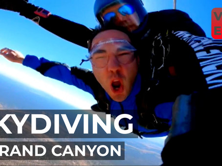 YouTube Weekly VLOG | EP24 | First Sky Dive (over the Grand Canyon) and Homolovi State Park