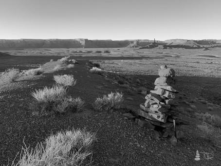 Western Shadows Gallery | Desert Cairn