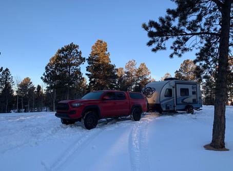 Strategies for RV Wintering