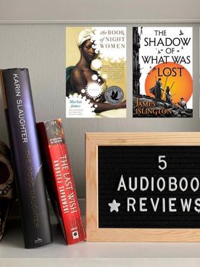 Audiobook Catch-up #5