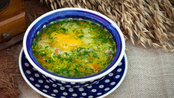 Chicken Soup With Paprika