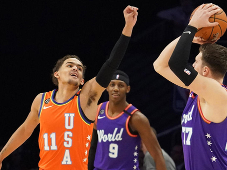 The Faces of Tomorrow's NBA?: A Comparison of the Atlanta Hawks' and Dallas Mavericks' Offenses