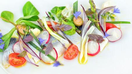 Baltic Herring In Vegetable Garden