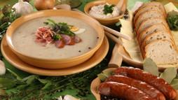 Silesian Sour Rye Soup
