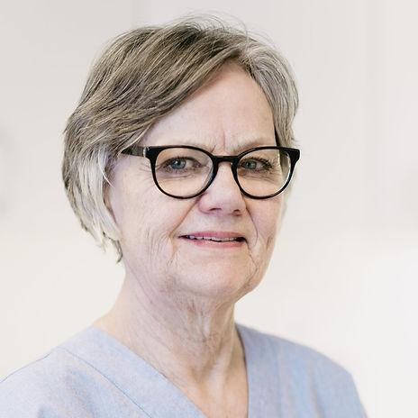 Tannhelsesekretær Bjørg Fjelletad