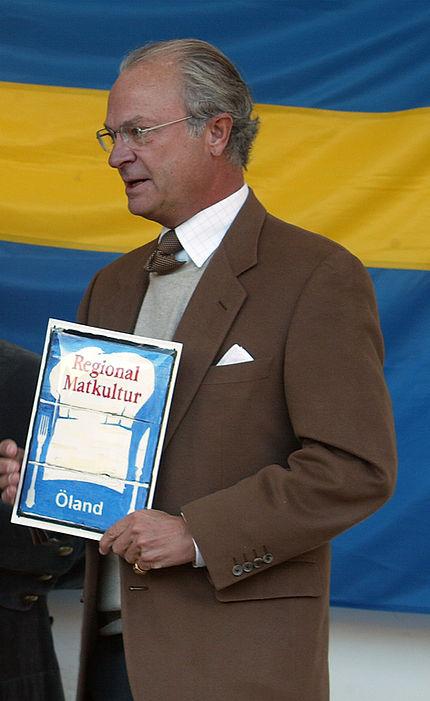 HM King Carl XVI Gustaf of Sweden