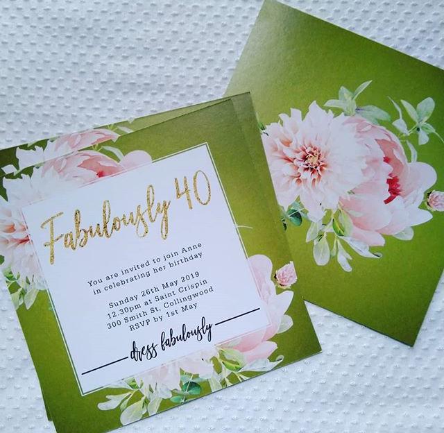 Fabulously Forty