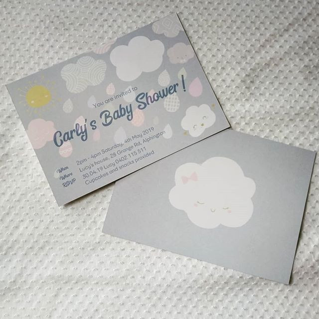 Baby Shower Invitations!