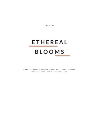 Ethereal Blooms by Kristianna Davied