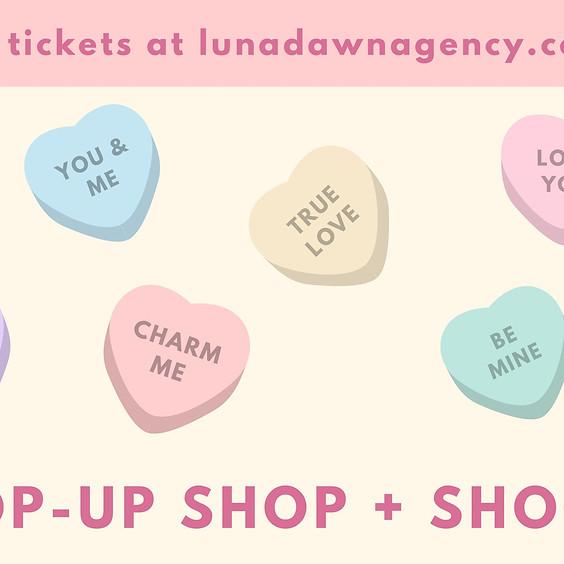 Valentine's Pop-Up Shop + Shoot