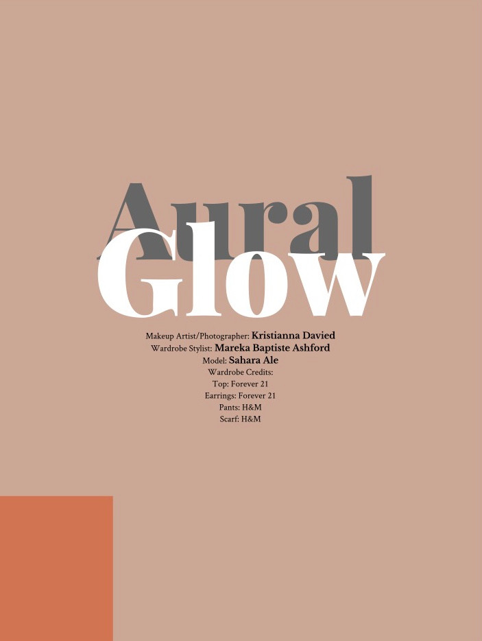 """Aural Glow"" by Kristianna Davied published in iMirage Magazine"