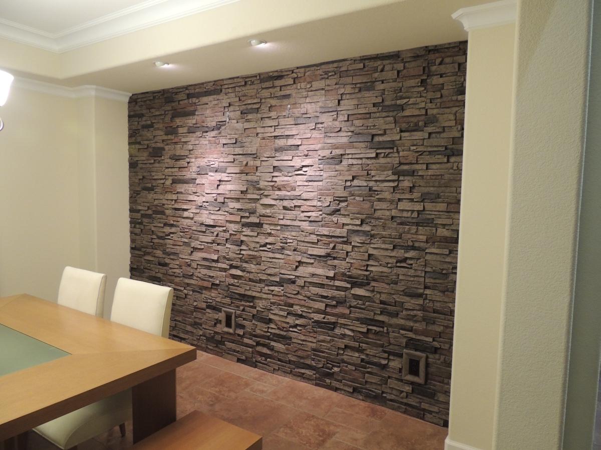Accent Wall - Stone Vener