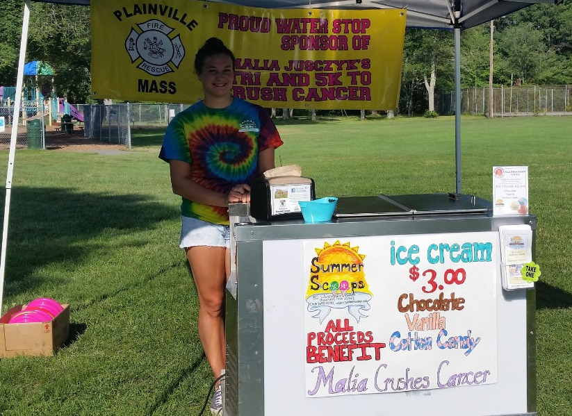Malia Crushes Cancer 2015