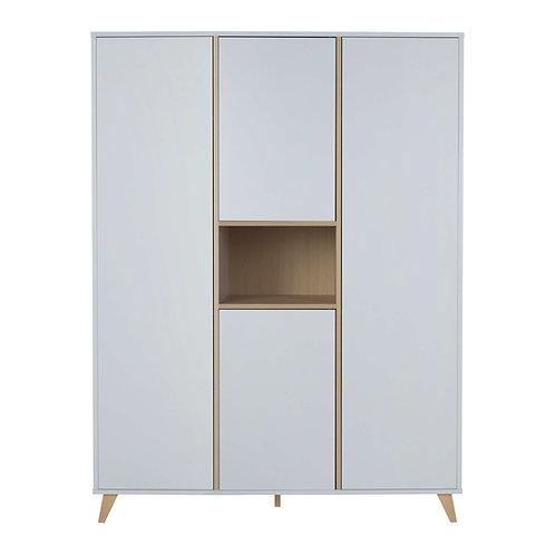 LOFT ארון לבן שלוש דלתות