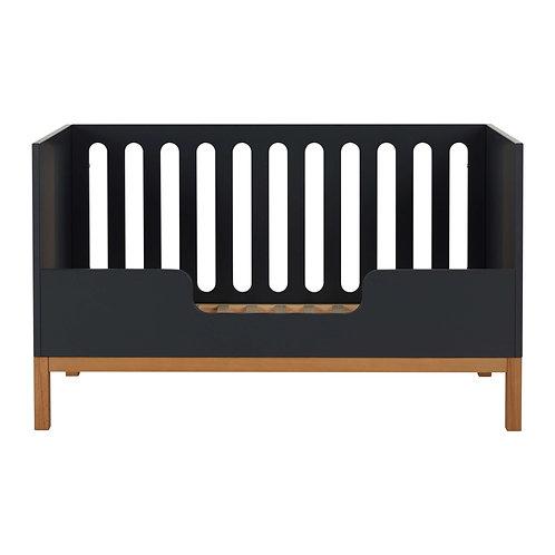 מעקה בטיחות בצבע אפור כהה למיטת מעבר INDIGO