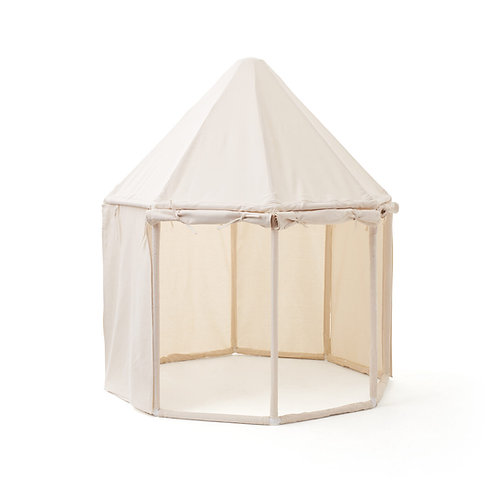 אוהל עגול בית המשחקים - צבע שמנת