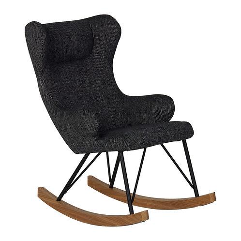 כסא נדנדה לילדים - שחור