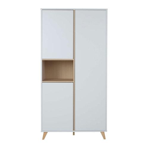 LOFT ארון לבן שתי דלתות