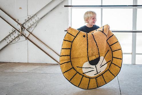 שטיח אריה עגול