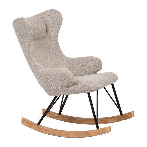 כסא נדנדה לילדים - אפור בהיר