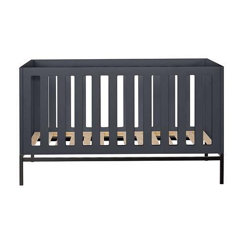HAVANA מיטת תינוק בצבע אפור כהה
