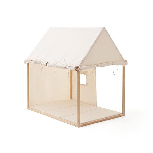 אוהל בית המשחקים - צבע שמנת