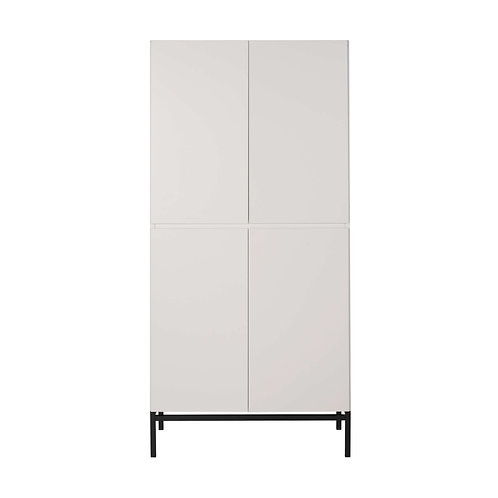 HAVANA ארון שתי דלתות לבן