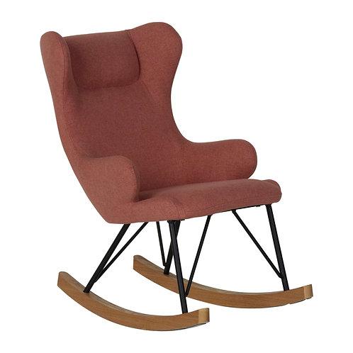 כסא נדנדה לילדים - ורוד מעושן