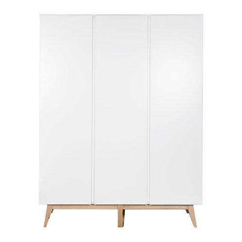 TRENDY ארון לבן שלוש דלתות