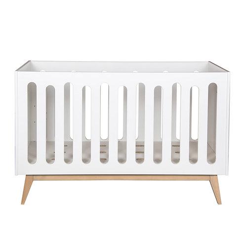 TRENDY מיטת תינוק לבנה
