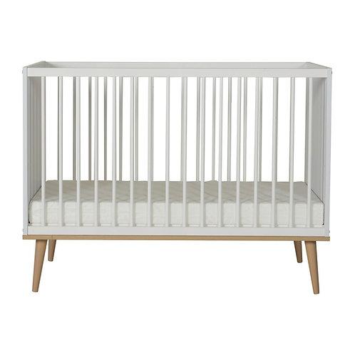 "FLOW מיטת תינוק 120-60 ס""מ לבנה"
