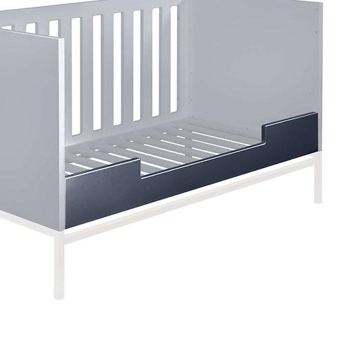 מעקה בטיחות אפור למיטת מעבר HAVANA