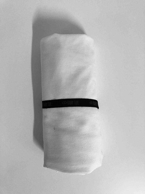 סדינים מכותנה - לבן